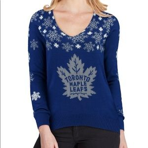NWT NHL Toronto Maple Leafs Sweater